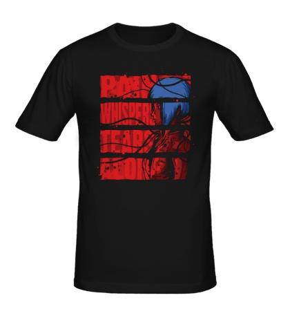 Мужская футболка Призрак в доспехах