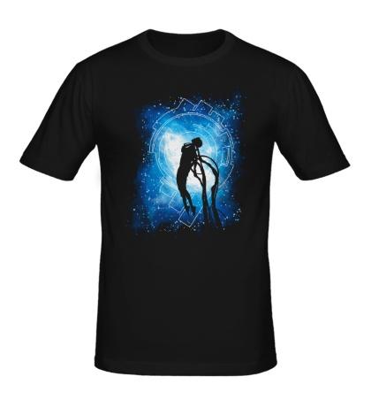 Мужская футболка Превращение Киборга