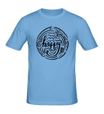 Мужская футболка Happy Mood