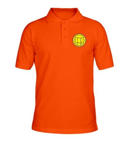 Рубашка поло Грибы: лого желтый