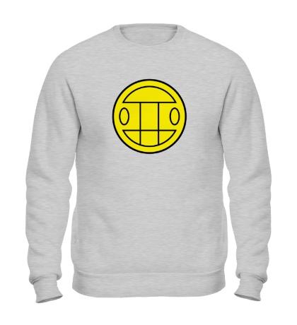 Свитшот Грибы: лого желтый