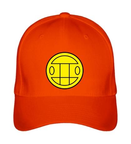 Бейсболка Грибы: лого желтый
