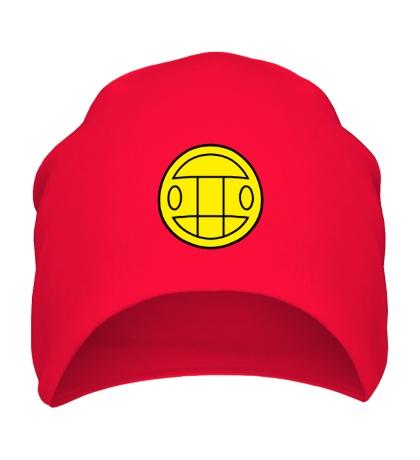 Шапка Грибы: лого желтый
