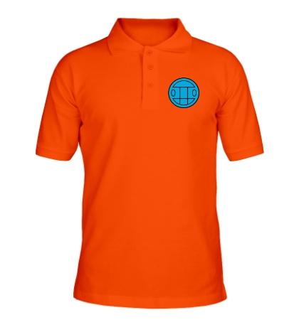 Рубашка поло Грибы: лого синий