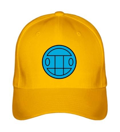 Бейсболка Грибы: лого синий