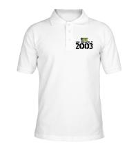 Рубашка поло На земле с 2003