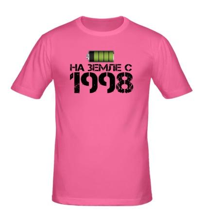 Мужская футболка На земле с 1998