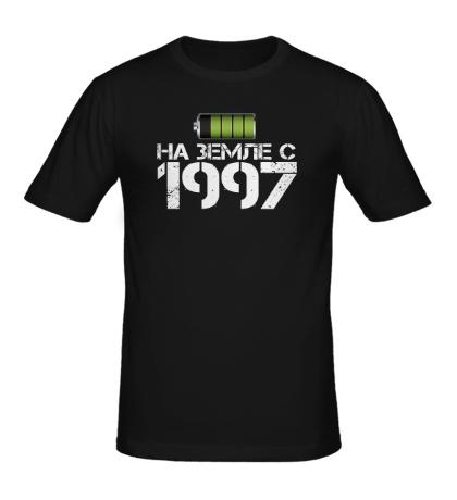Мужская футболка На земле с 1997