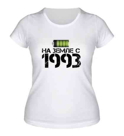 Женская футболка На земле с 1993