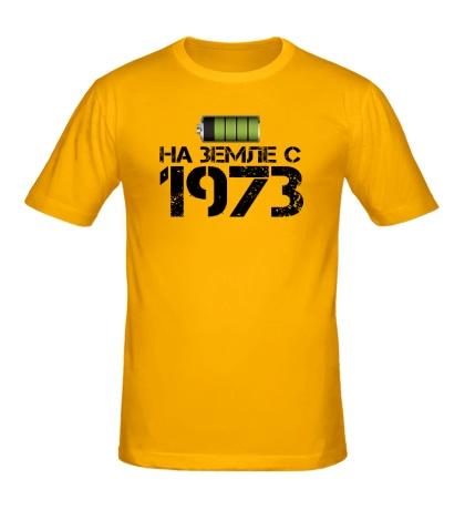 Мужская футболка На земле с 1973