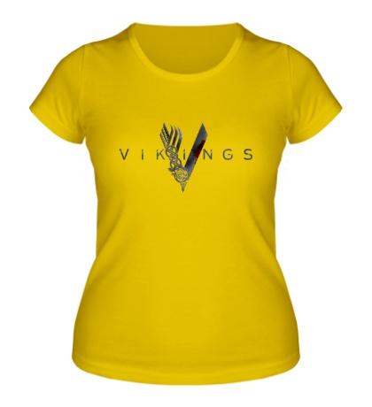 Женская футболка Vikings Logo