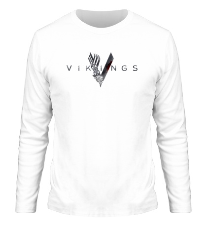 Мужской лонгслив Vikings Logo