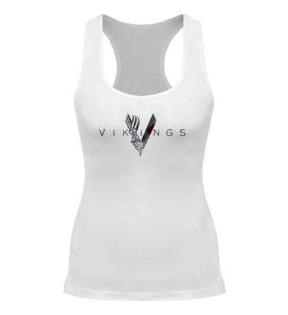 Женская борцовка Vikings Logo