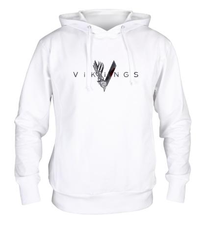 Толстовка с капюшоном Vikings Logo