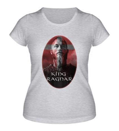 Женская футболка King Ragnar