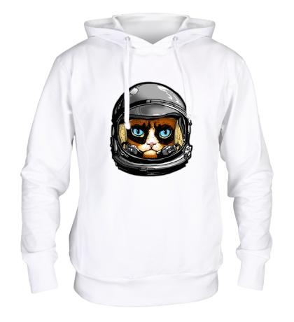 Толстовка с капюшоном Grumpy Astronaut, Not!