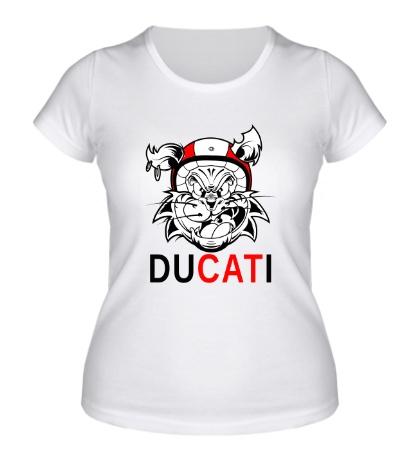 Женская футболка Du-CAT-i