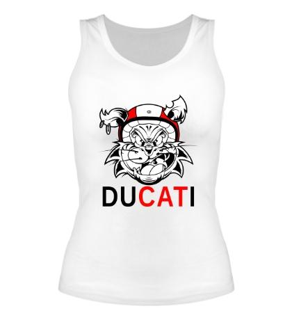 Женская майка Du-CAT-i