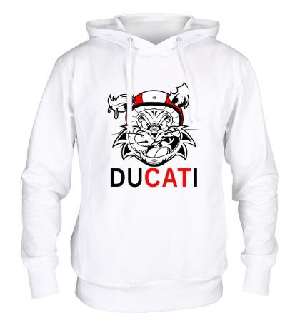 Толстовка с капюшоном Du-CAT-i