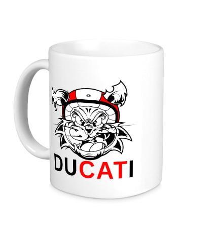 Керамическая кружка Du-CAT-i