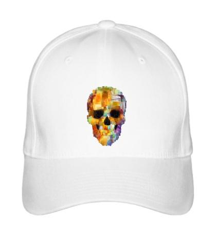 Бейсболка Abstract Skull Grunge