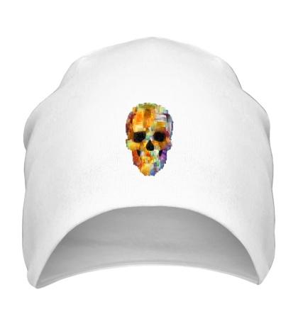 Шапка Abstract Skull Grunge