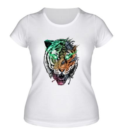 Женская футболка Tiger, Killer Machine
