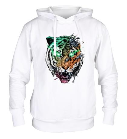 Толстовка с капюшоном Tiger, Killer Machine