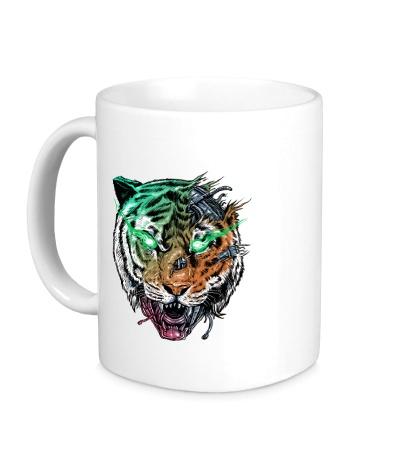 Керамическая кружка Tiger, Killer Machine