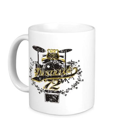 Керамическая кружка Drums 72