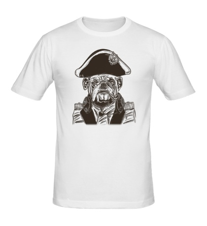 Мужская футболка Адмирал Питбуль