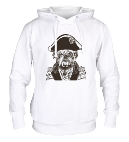 Толстовка с капюшоном Адмирал Питбуль