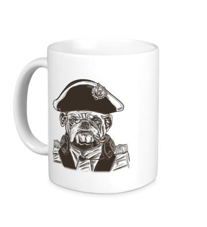 Керамическая кружка Адмирал Питбуль