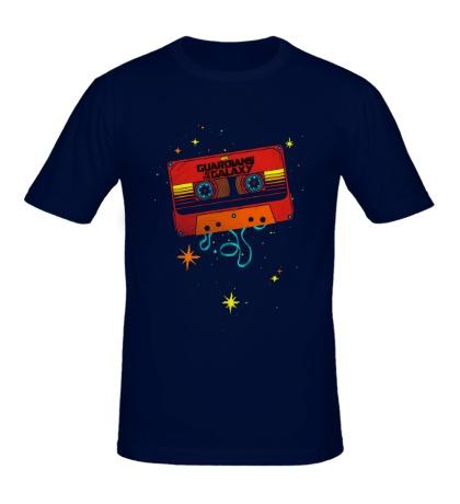 Мужская футболка Кассета, Стражи галактики