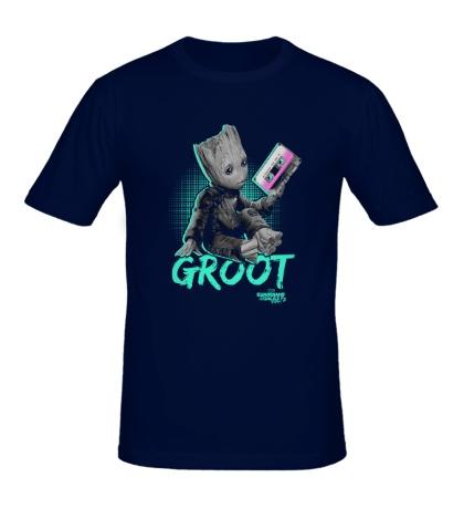 Мужская футболка Mixtape Groot