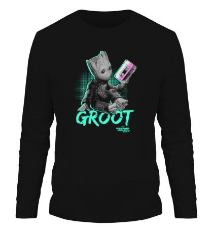 Мужской лонгслив Mixtape Groot