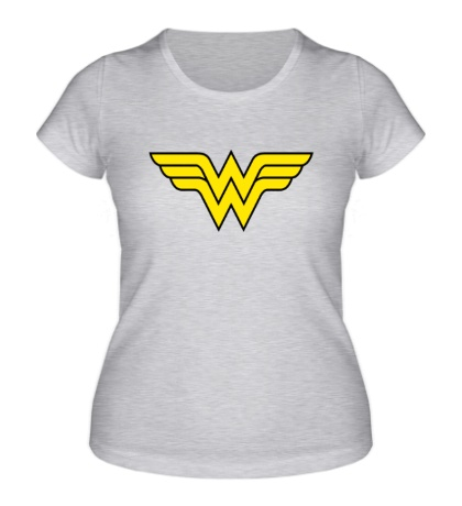 Женская футболка Wonder Woman