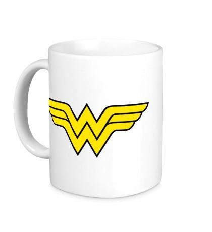 Керамическая кружка Wonder Woman