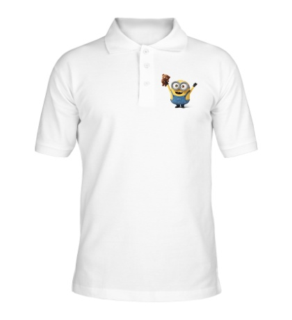 Рубашка поло Миньон и мишка