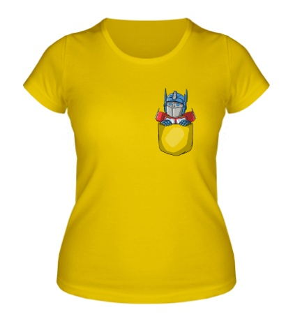 Женская футболка Карманный Прайм
