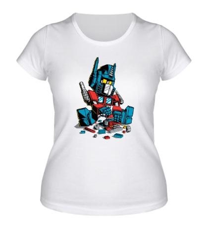 Женская футболка Lego: Optimus Prime