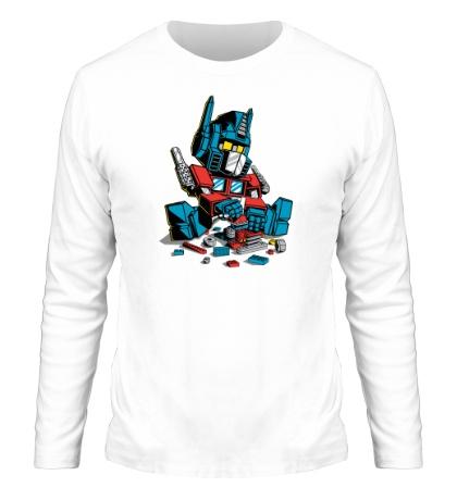Мужской лонгслив Lego: Optimus Prime
