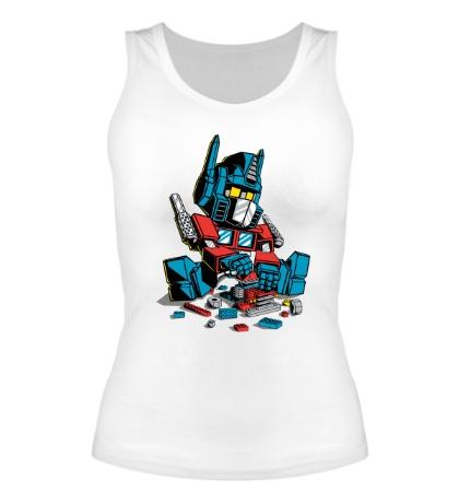Женская майка Lego: Optimus Prime