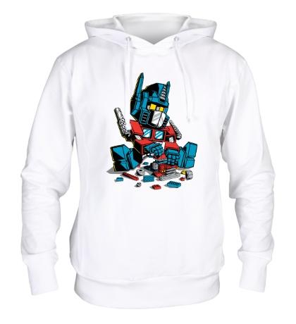 Толстовка с капюшоном Lego: Optimus Prime