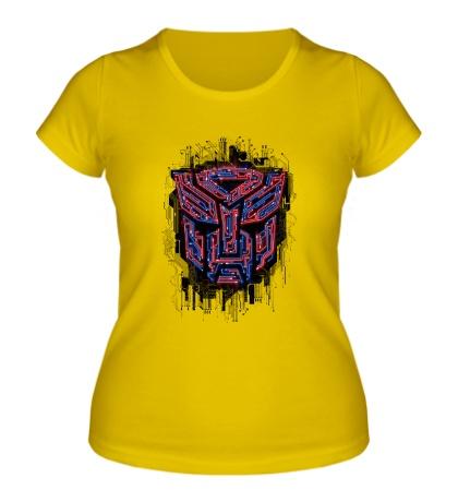 Женская футболка Autobots