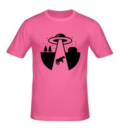 Мужская футболка НЛО: Похищение