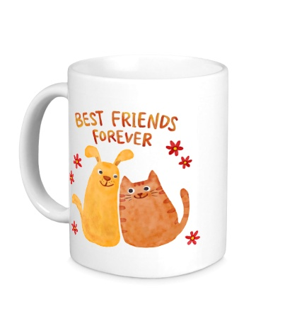 Керамическая кружка Best Friends: Forever