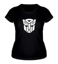 Женская футболка Autobots logo