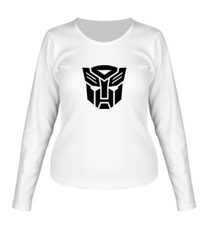 Женский лонгслив Autobots logo