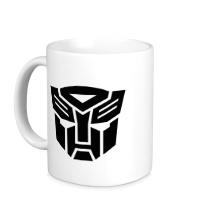 Керамическая кружка Autobots logo